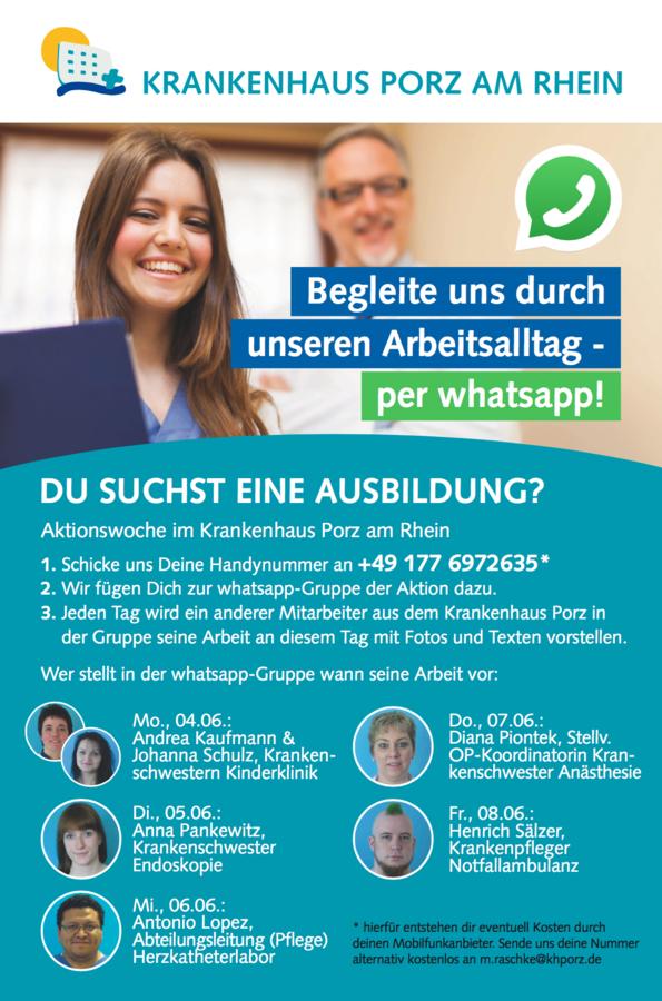 Whatsapp Teilnehmer